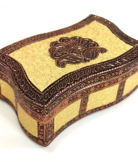 Meenakari Dry Fruit Box with 2 Partition LC.REXIN-17