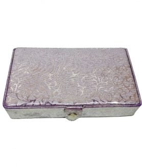 Compact Rexine Jewellery Box (Colour)-1