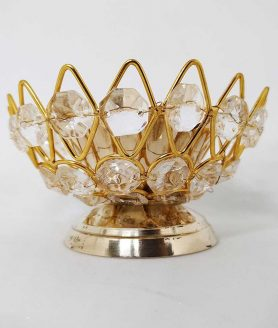 Crystal Bowl Diya (No. 2)