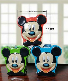 Mickey mouse cartoon metal piggy bank 3