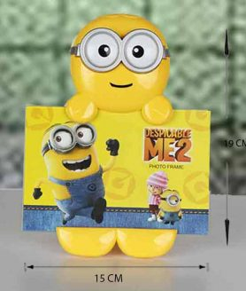 Minion Cartoon Shape Photo Frame