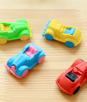 Classic Cars Rubber Eraser For Kids