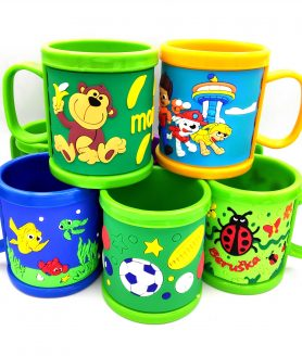 Printed Emboss Mug For Kids